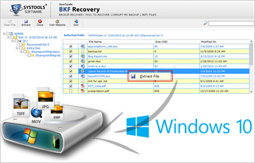 Windows Backup File Restore Software
